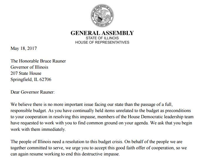 "test Twitter Media - House Dems pen letter to Gov. Rauner: ""The people of Illinois need a resolution to this budget crisis."" https://t.co/gIsAgwyQYJ #twill https://t.co/1XlG8AJO0K"