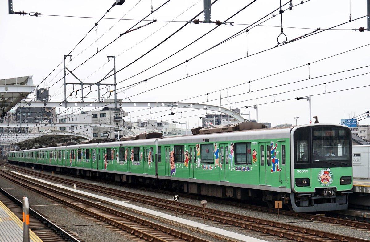 クレヨンしんちゃんのラッピング電車運行期間を3ヶ月延長して、8月までの運行予定になりましたか。