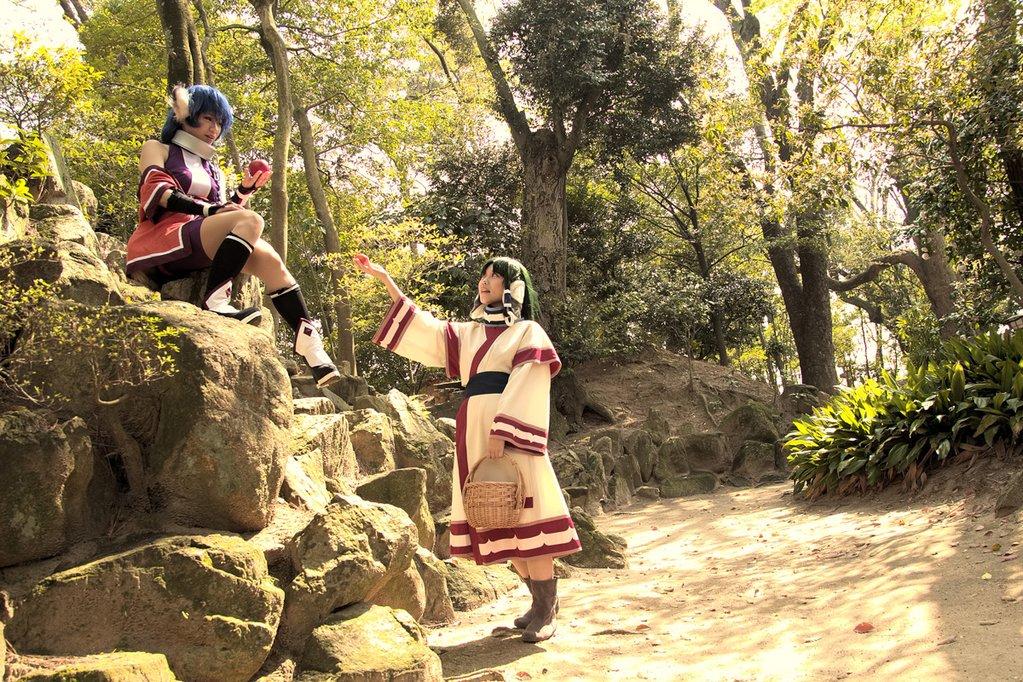 【コスプレ】うたわれるもの/散りゆく者への子守唄カルラ:シュリさん(@_Shuri_uri )エルルゥ:ひづきphoto