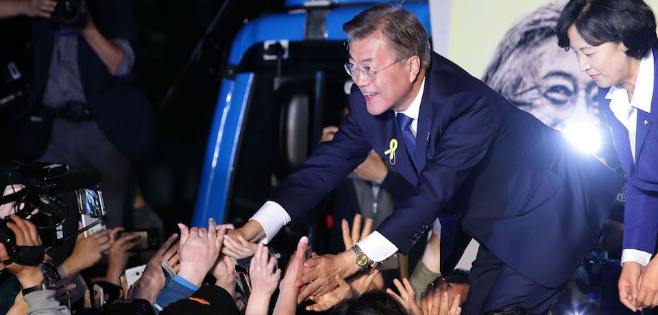 South Korea's Moon Jae-in plans to use sunshine against North Korea.