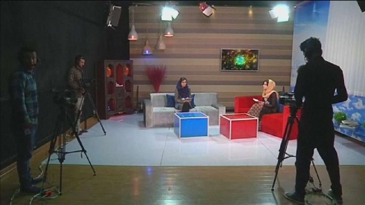 ?? Afghanistan's new TV channel by and for women