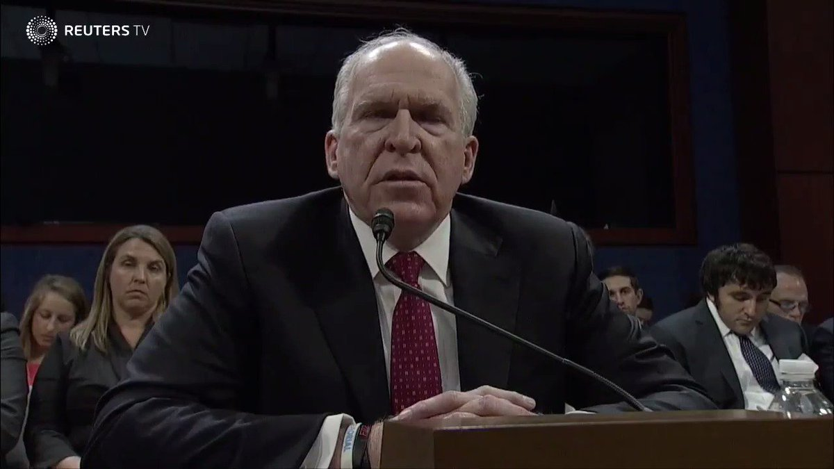 Former CIA Director Brennan 'worried' by Russian ties to Trump team. Via @ReutersTV