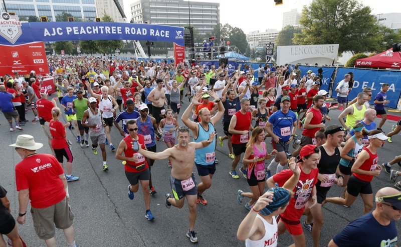 Peachtree Road Race among top 20 iconic American races