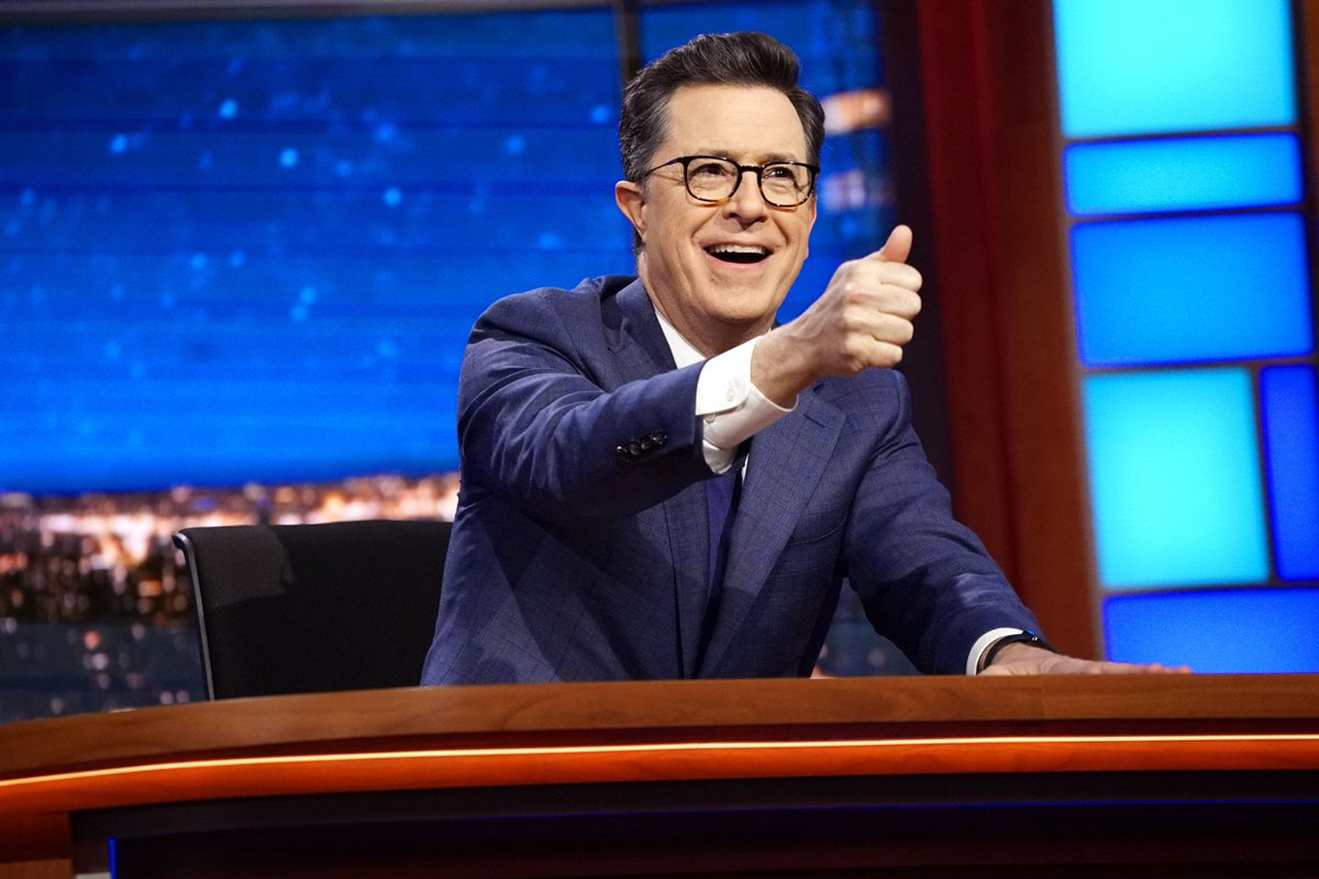 FCC won't take action over Stephen Colbert's Trump joke: