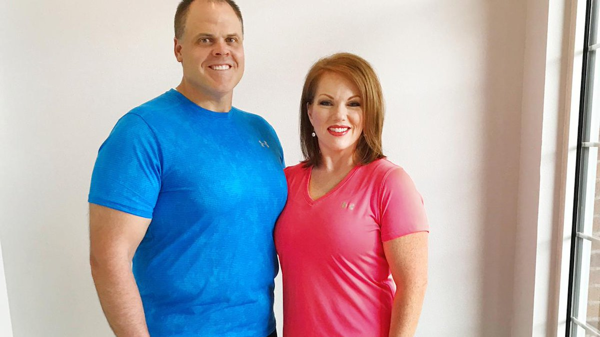 This husband and wife duo lost more than 200 lbs. by embracing health together ?