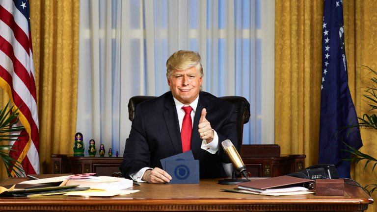 Comedy Central orders more of 'The President Show'