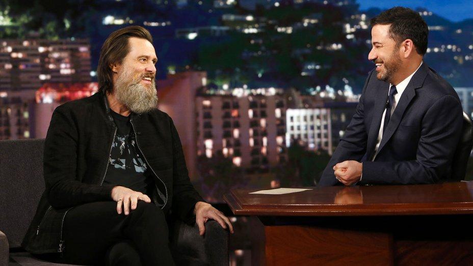 ".@JimCarrey: My beard is ""a bigger star than me"""