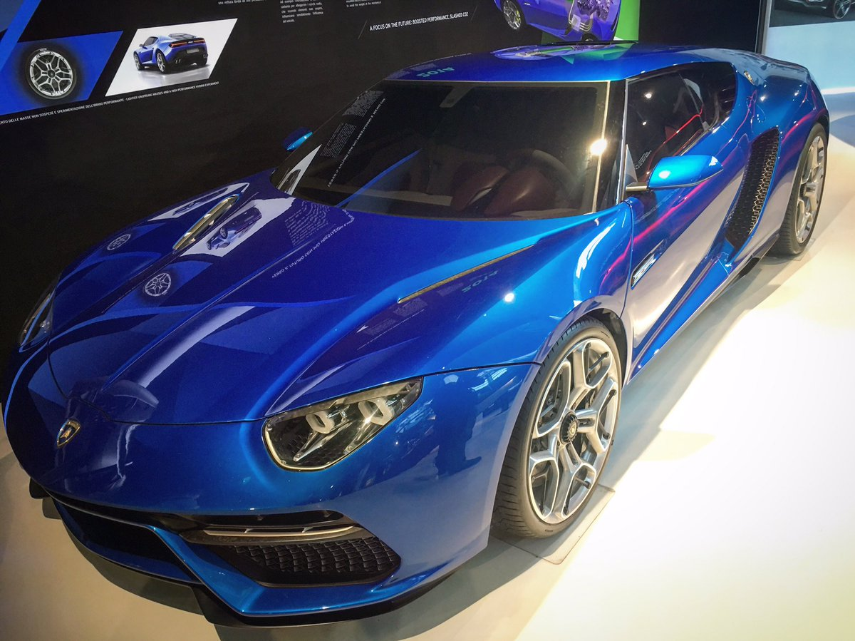 The Lamborghini Asterion Hybrid Concept Named After Half Man Half