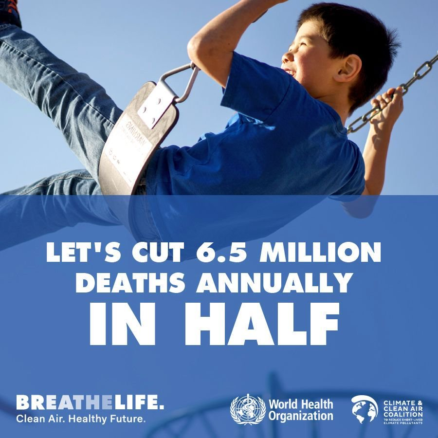 test Twitter Media - #AirPollution kills nearly 7 million annually.Together we can cut this by half. #BreatheLife @WHO @CCACoalition https://t.co/Fb5FBsu3mo https://t.co/2wFGXtVyPz