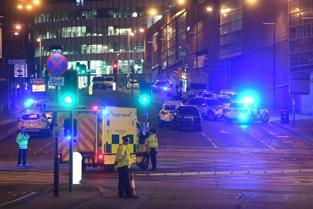 Suspect named after youngsters killed in UK concert attack