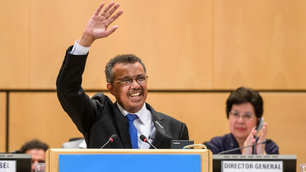Ethiopia's Tedros Ghebreyesus becomes first African to head World Health Organization (@WHO)