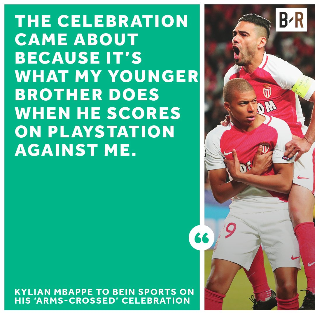 Kylian Mbappe S Celebration Is All In The Family Scoopnest Com