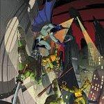 翻訳本希望アニメバットマン&ニコロデオンミュータントタートルズのコラボコミック翻訳本、日本に発売してほしい。⑤#