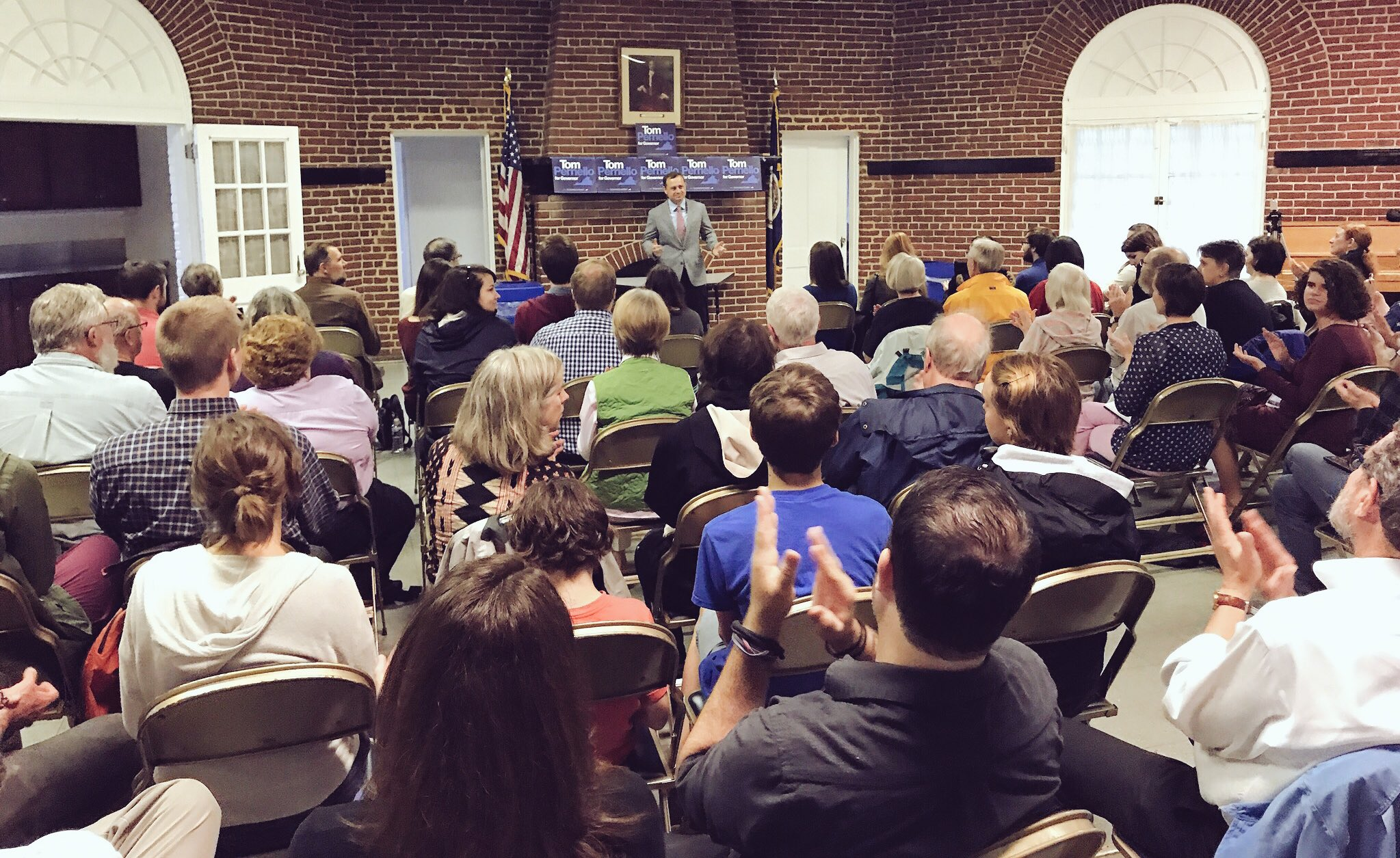 We're live from our Richmond town hall! Join us here: https://t.co/odHiG3503K https://t.co/sU8n22PScJ