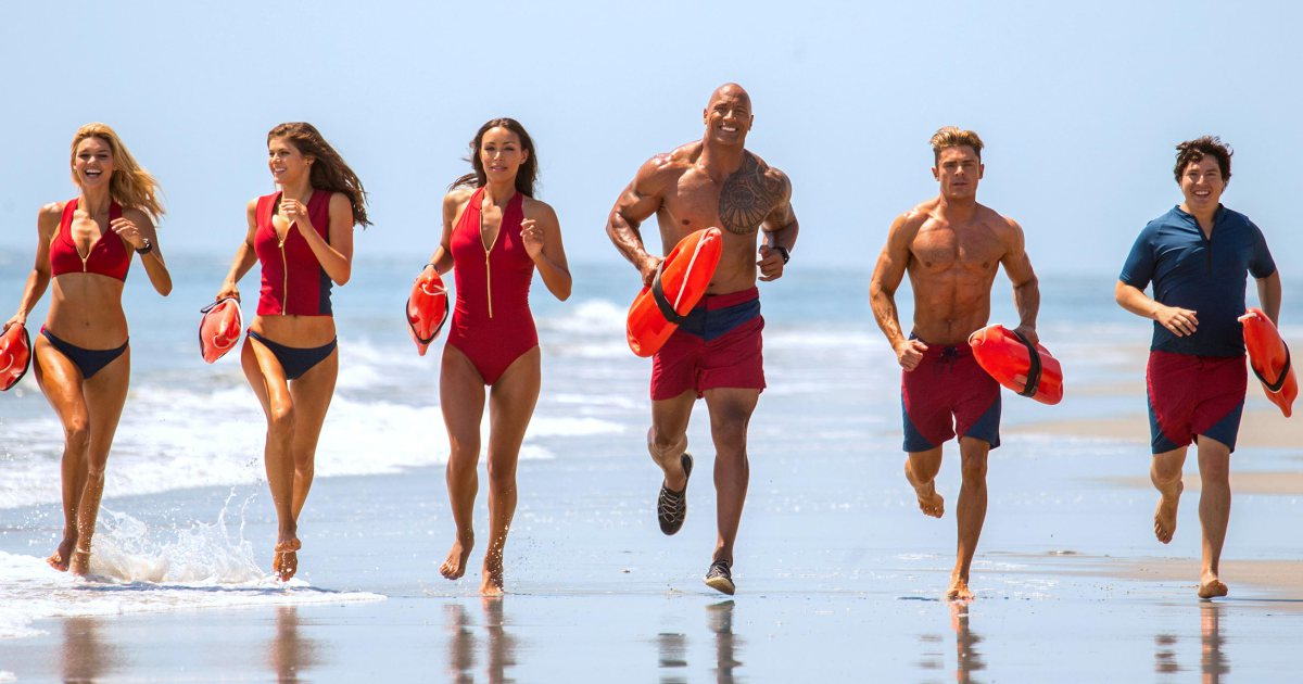 We gave Baywatch a C. Here's why: