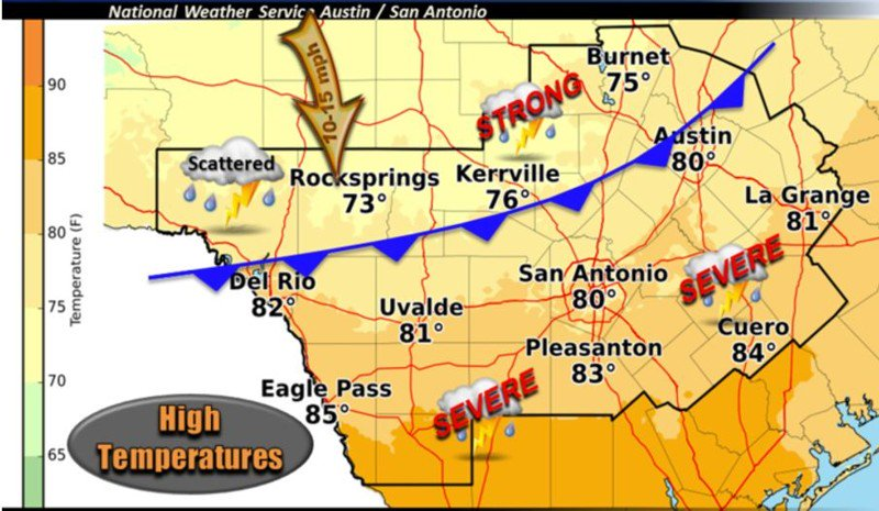 STORMS APPROACHING: Weather Service issues severe thunderstorm watch