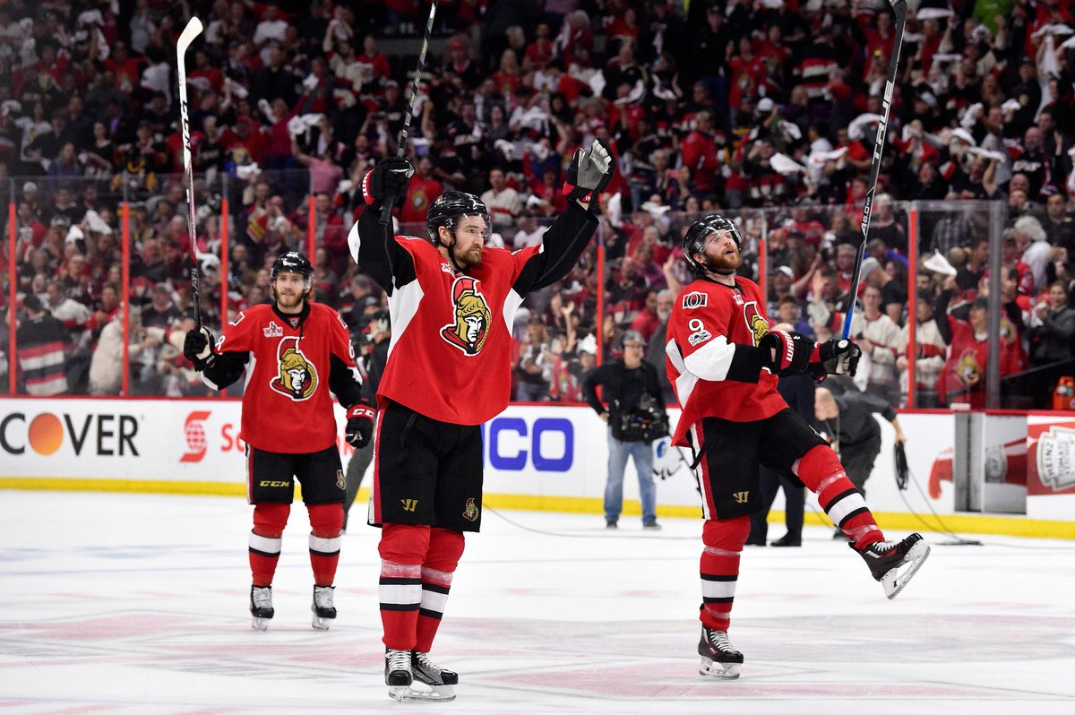 GAME. 7.The Senators take down the Penguins 2-1 to stay alive.
