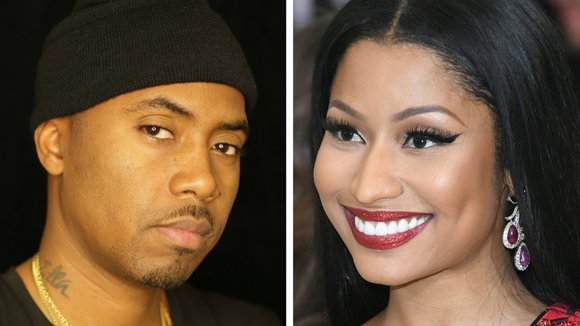 Nicki Minaj confirms Nas dating rumors, admits to 'sleepovers' (Photo: USA TODAY/Getty)