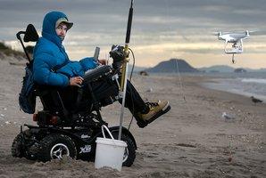 Drone helping tetraplegic 20-year-old keep beloved fishing hobby alive