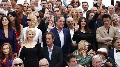 Cannes fetes itself with massive 70th anniversary bash