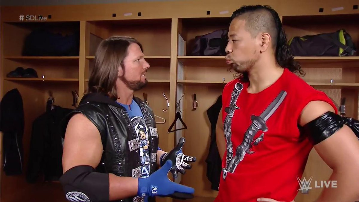 .@AJStylesOrg looks forward to teaming with his longtime friend @ShinsukeN TONIGHT on #SDLive!