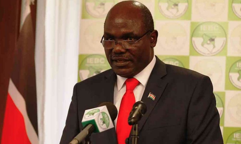 IEBC meets Presidential candidates