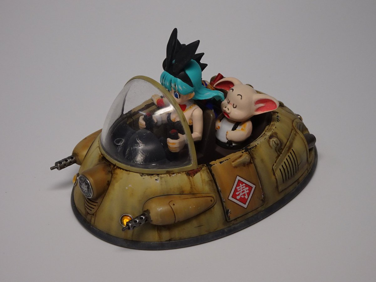 BANDAI mecha collection DORAGON BALL Ox-King's Vehicle メカコレク