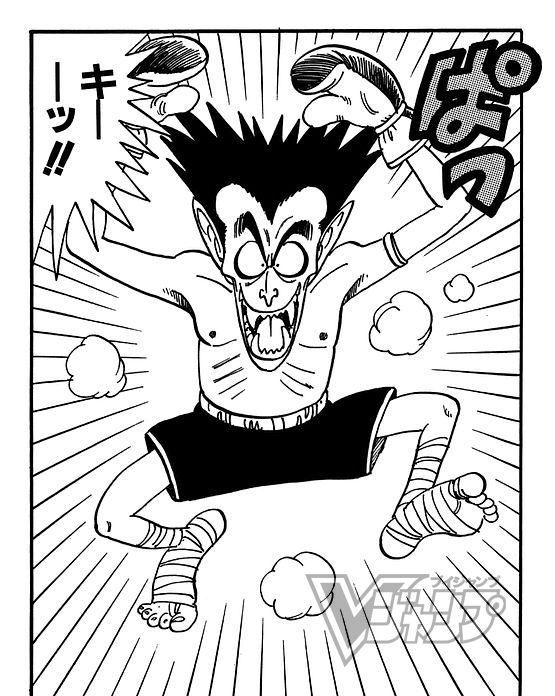 【今日の1コマ!ドラゴンボールキャラクターズ】キックボクシングの使い手、ドラキュラマン! #DB30th #ドラゴンボー