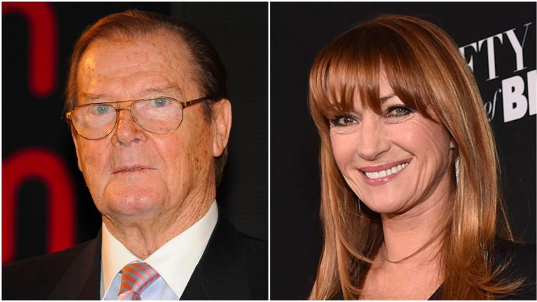 "Jane Seymour on ""long lost brother"" Roger Moore: ""He was hilarious"""