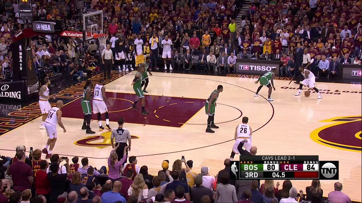 Kyrie Irving (39p) drops 21 points in the 3rd Quarter! 😳 #NBAPlayoffs