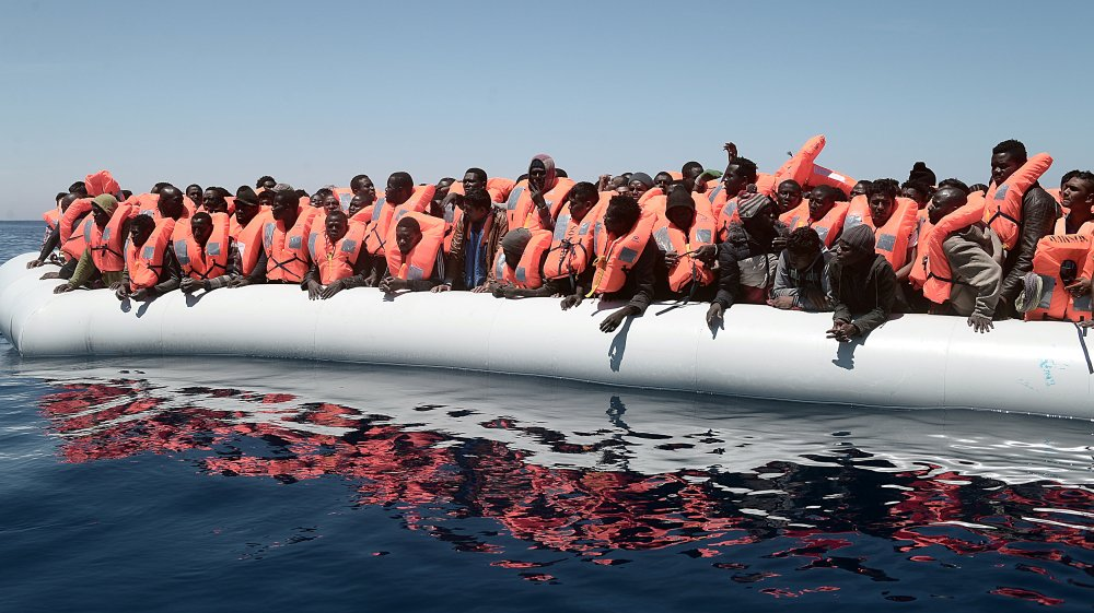 About 1,000 asylum seekers are stranded in the Mediterranean after setting off from Libya