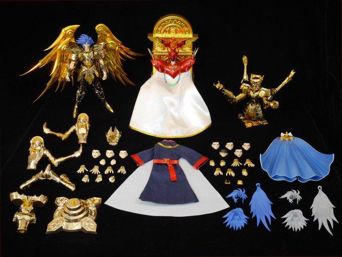 AKIBAショールーム:5月20日(土)開催 「聖闘士聖衣神話EX ジェミニサガ(神聖衣) サガサーガプレミアムセット」