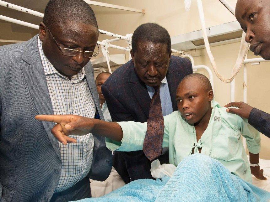 Jubilee a mere copycat, stole SGR idea from Kibaki – Raila