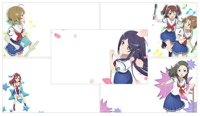 【OVAが本日発売】はいふりカメラの新規フレームを追加しました!是非使ってみて下さいね♪来週も新規フレームを追加いたしま