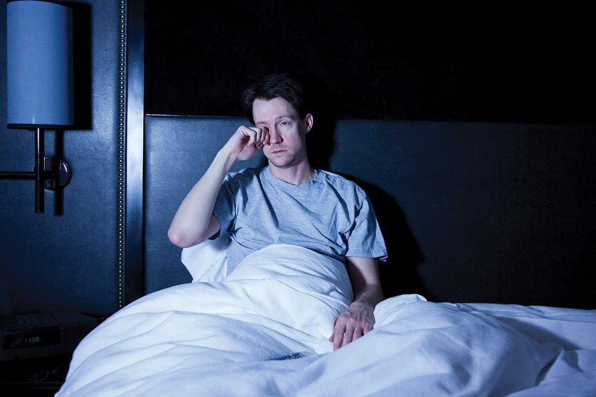 The brain starts to eat itself after chronic sleep