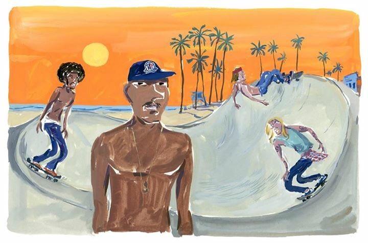 #MonclerPOSTCARDS シリーズ。 アーティストのJean-Philippe Delhommeが描いた 限定3つのイメージは、世界の有名ビーチからインスパイアを受けたもの。独特のタッチとカラーが楽しい! https://t.co/zVX04PBgZV