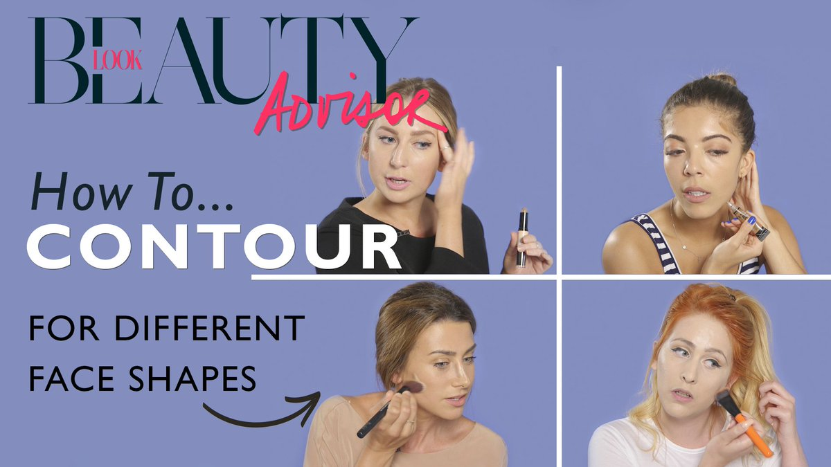 Watch this INTERACTIVE video: Find out how to contour for your face shape ?