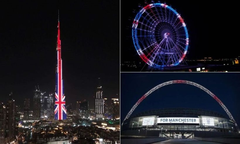 From the burjkhalifa to the empirestatebuilding the world has paid tribute to