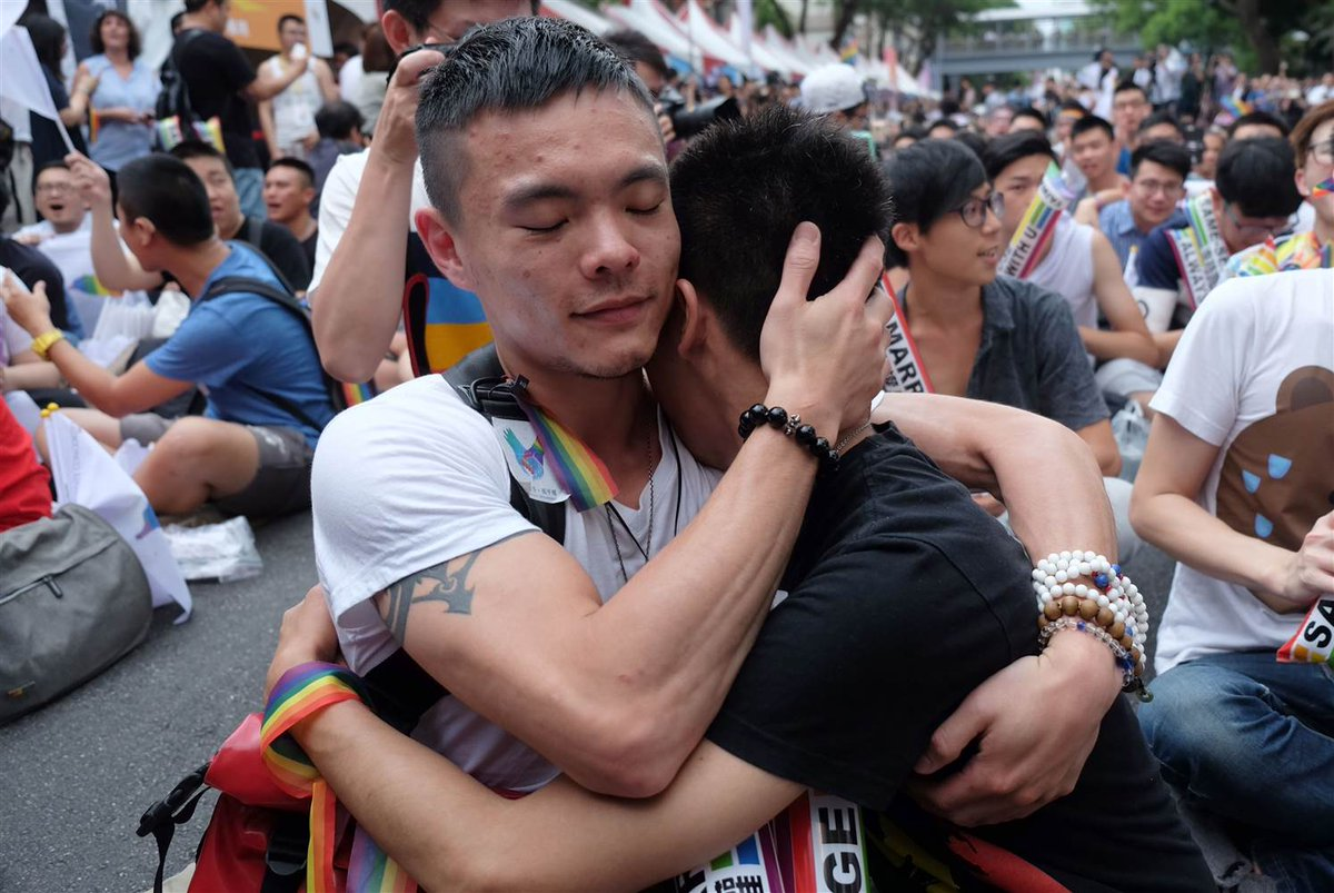 Taiwan's Constitutional Court has voted in favor of same-sex marriage