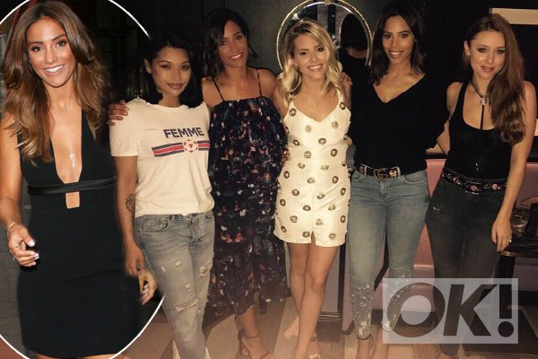Fans can't contain their excitment as @TheSaturdays are reunited after time apart