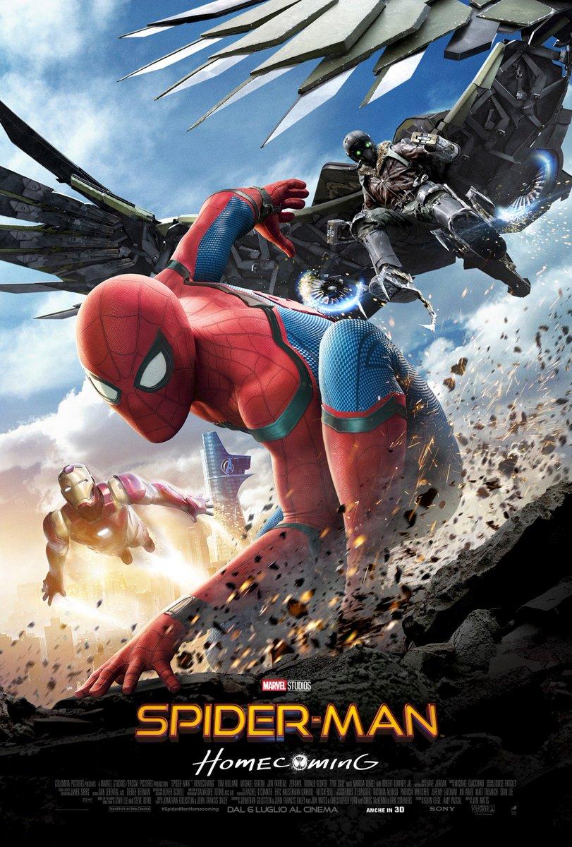 #SpiderManHomecoming