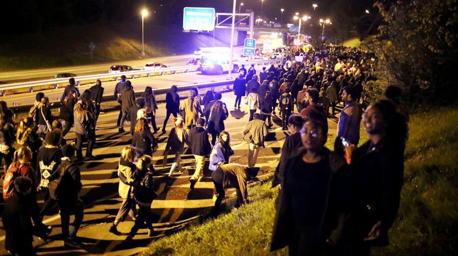 9 of 12 protesters who blocked Downtown Expressway after Trump's election plead guilty