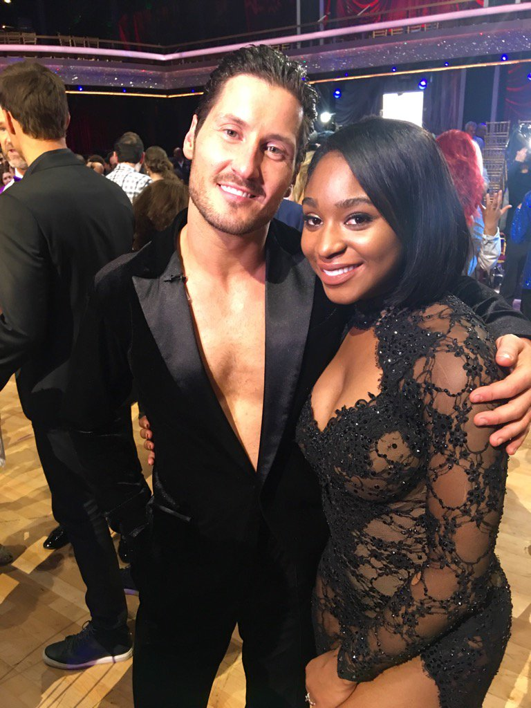 Victory doesn't always need to come w/a trophy. @NormaniKordei told me she won confidence by doing #dwts w/ @iamValC