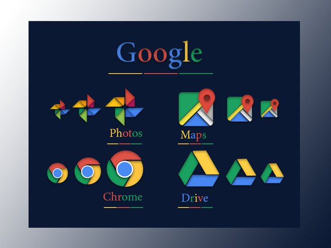 Google Icons   Icons by MeUiDesigner freebie