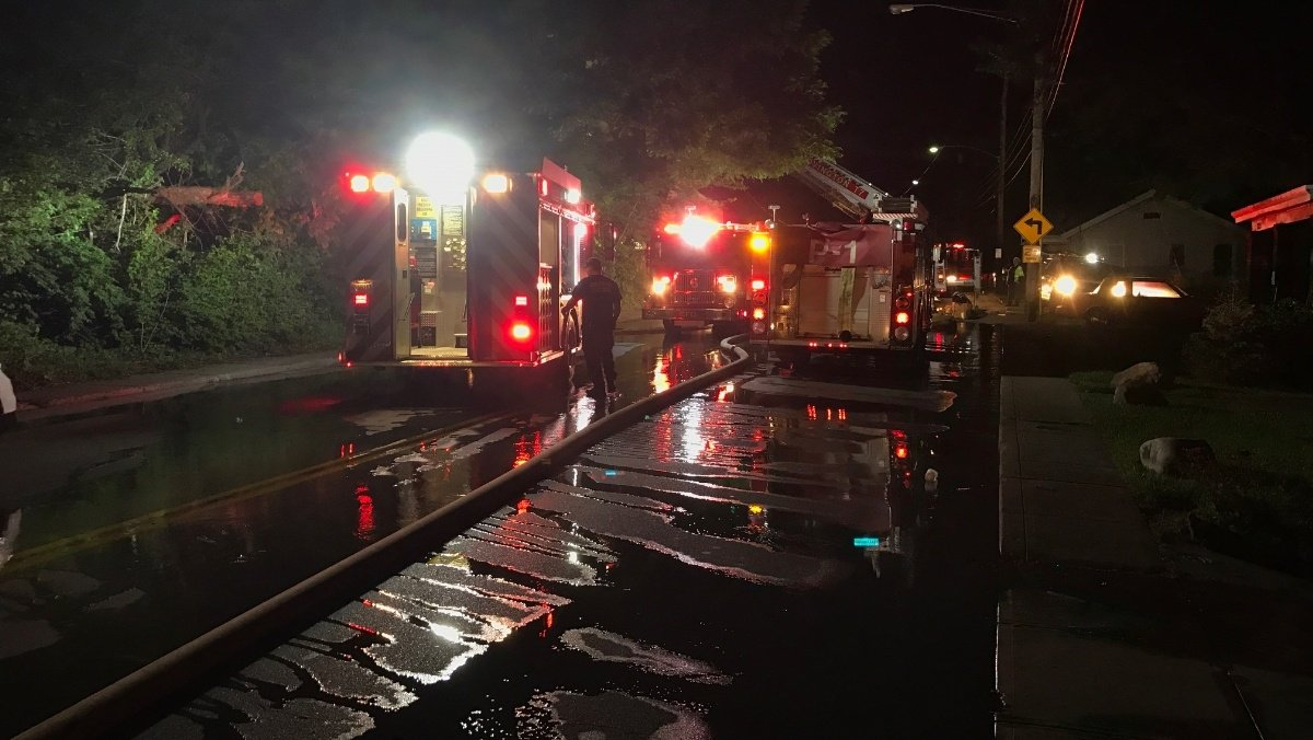 One dead, firefighter hurt in Covington house fire