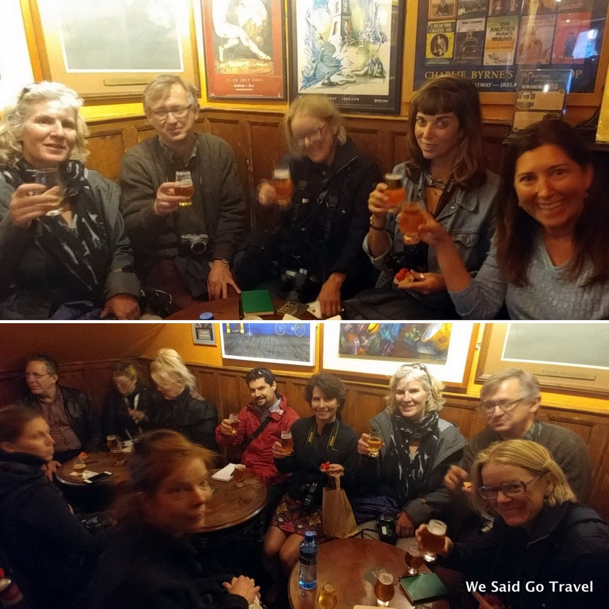 """test Twitter Media - Failte #Ireland! #tcireland #loveireland. The Galway #food and walking #tour """"Around the Market Place"""" at Tigh Neachtain for Galway Hooker https://t.co/PoAdrjbFCc"""