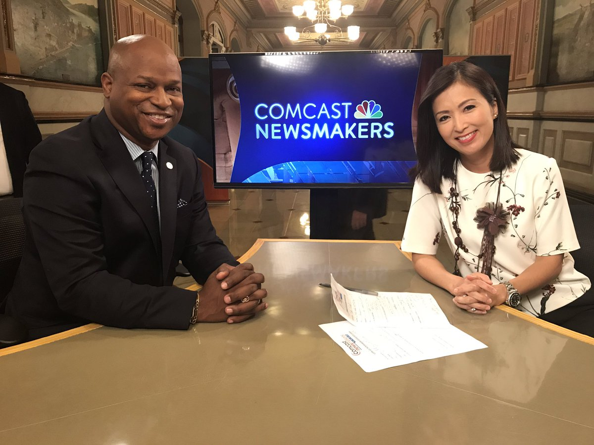 test Twitter Media - Always honored to appear on Comcast Newsmakers with Ellee Pai Hong. We talked Budget, Immigration and Cursive Writing.  #comcast #newsmakers https://t.co/2LHphwyi93