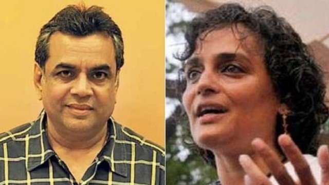 Paresh Rawal defends tweet about Arundhati Roy, says Twitter 'coerced' him to delete it