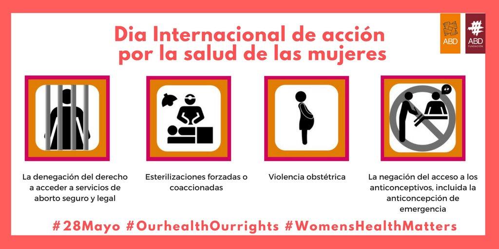 test Twitter Media - 🚺📣 Este domingo 28 es el Dia Internacional de acción por la salud de las mujeres. ¡Participa! https://t.co/lI55fGM3Gc