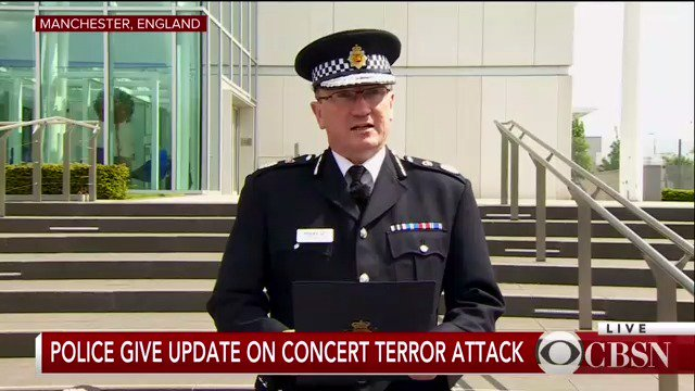 WATCH LIVE: Authorities give an update on Monday's Manchester Arena attack